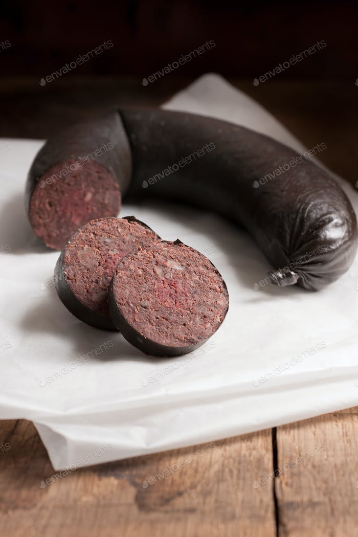 English Black Pudding