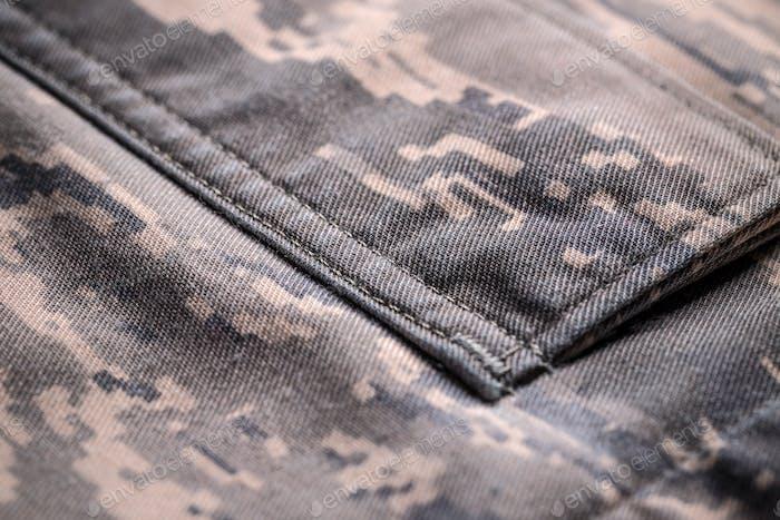 Camouflage shirt pocket