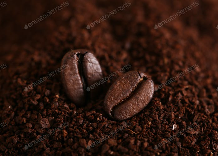 Ground Coffee and Grains