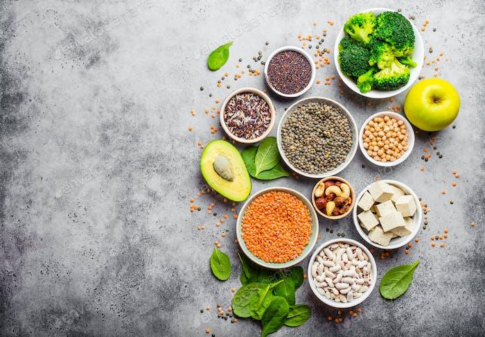 Vegane gesunde Ernährung