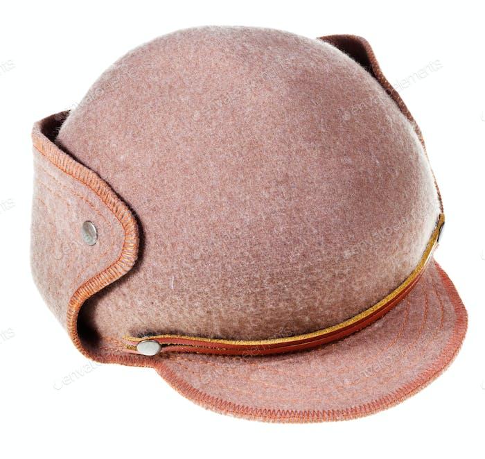 Filz weiche Hut Ushanka mit Kappe Schirm