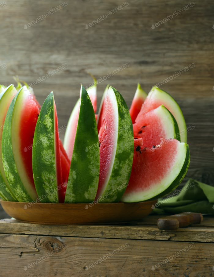 Ripe Sweet Watermelon