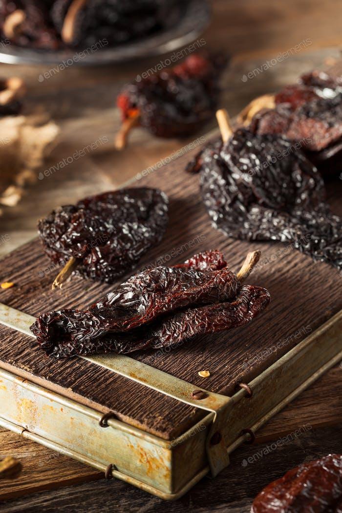 Raw Organic Dry Ancho Chili