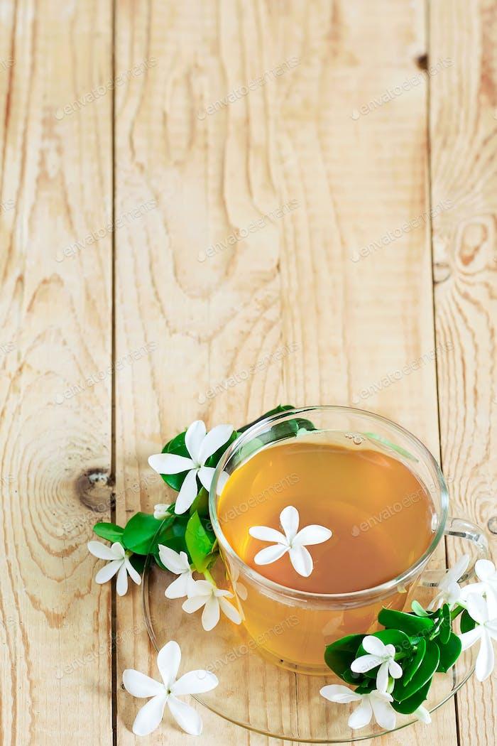 Jasmine tea background
