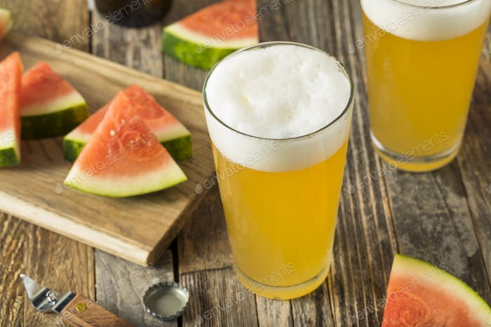 Sweet Alcoholic Watermelon Beer
