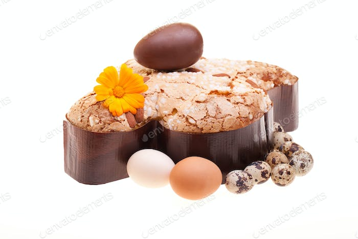 Photo: Easter Traditional Sweets - Italian Colomba