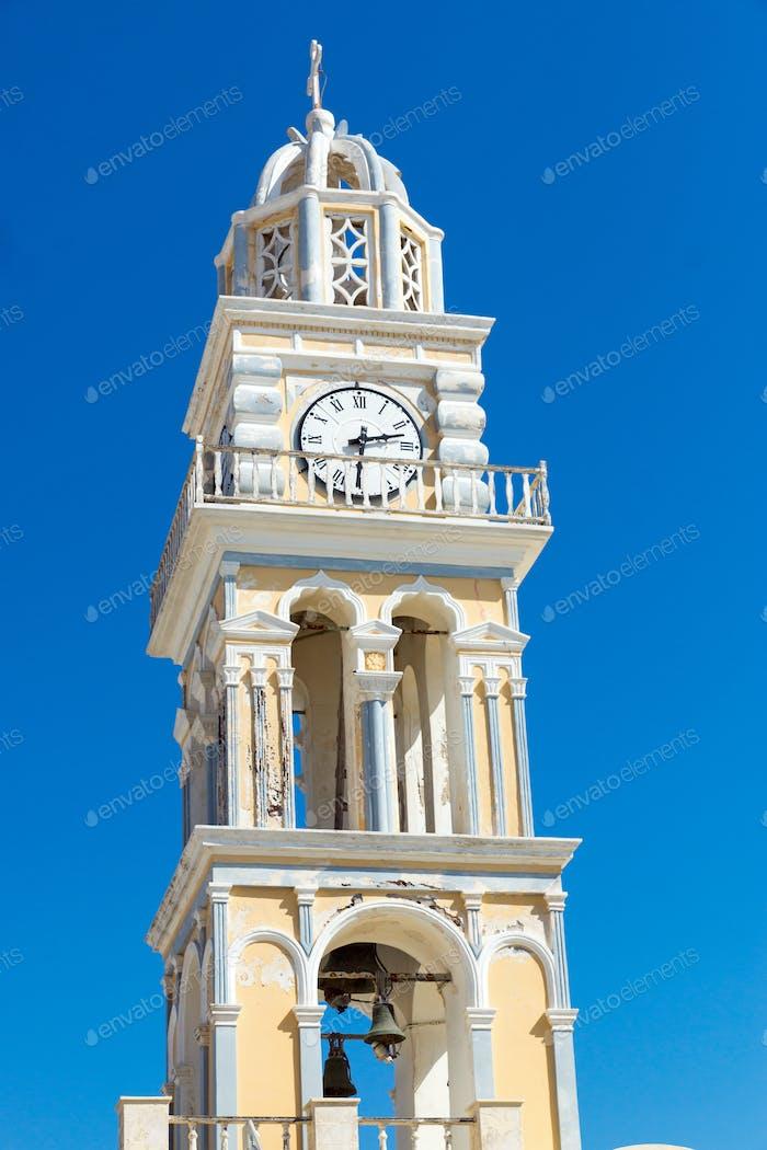 Schöne Kirche in Fira