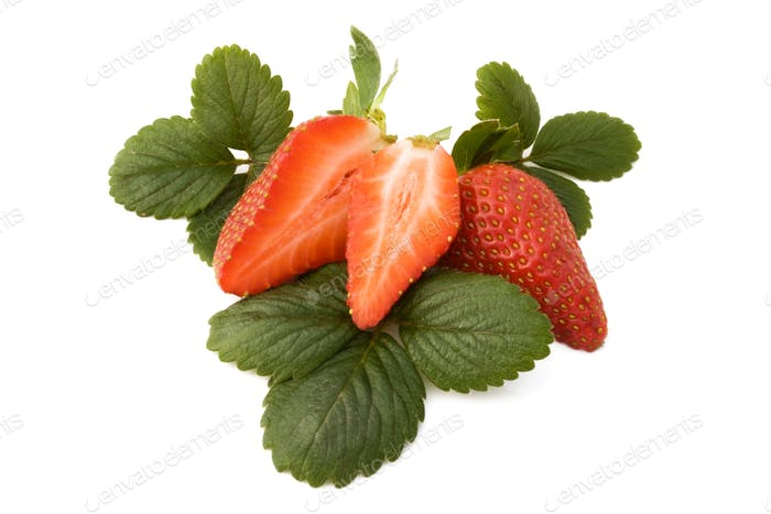 Section Of Strawberry