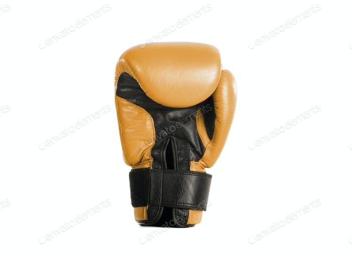 yellow glove box