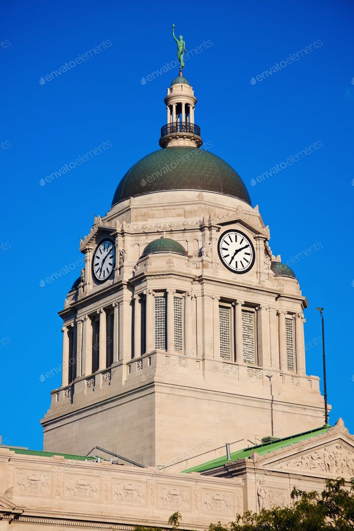 Old courthouse in South Bend