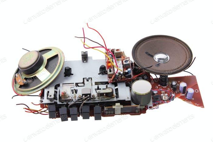 Broken Radio Cassette Player