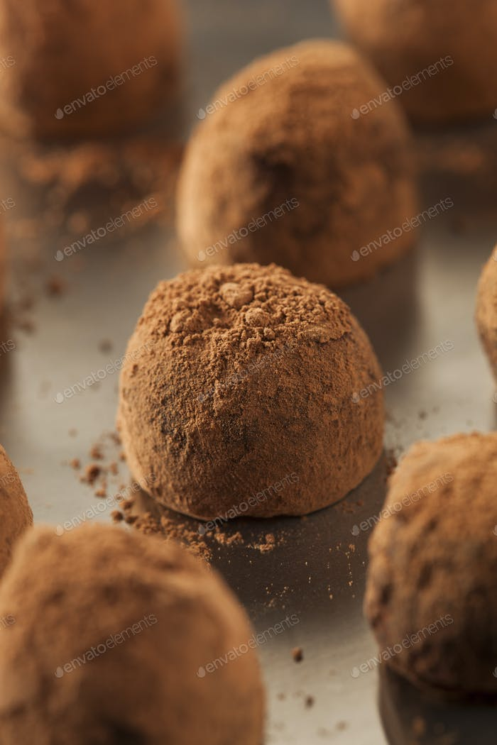 Fancy Gourmet Chocolate Trufffles