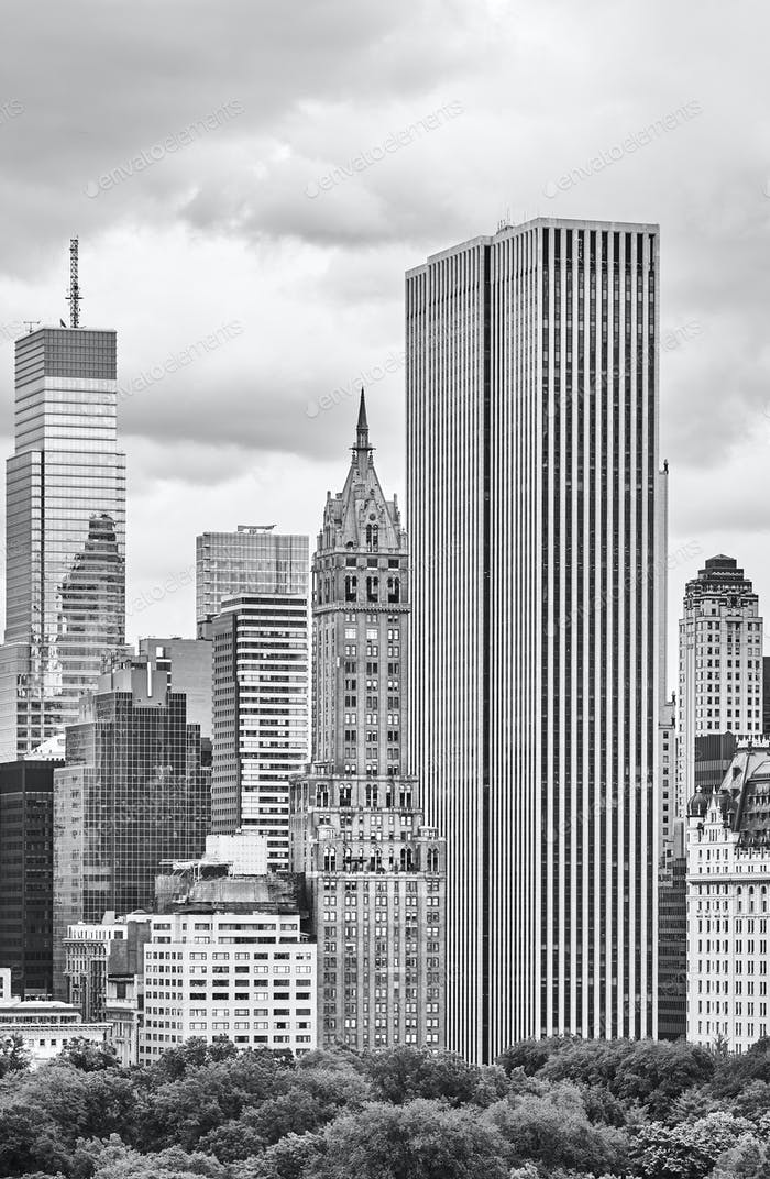 New York City old and modern architecture, USA. photo by ...