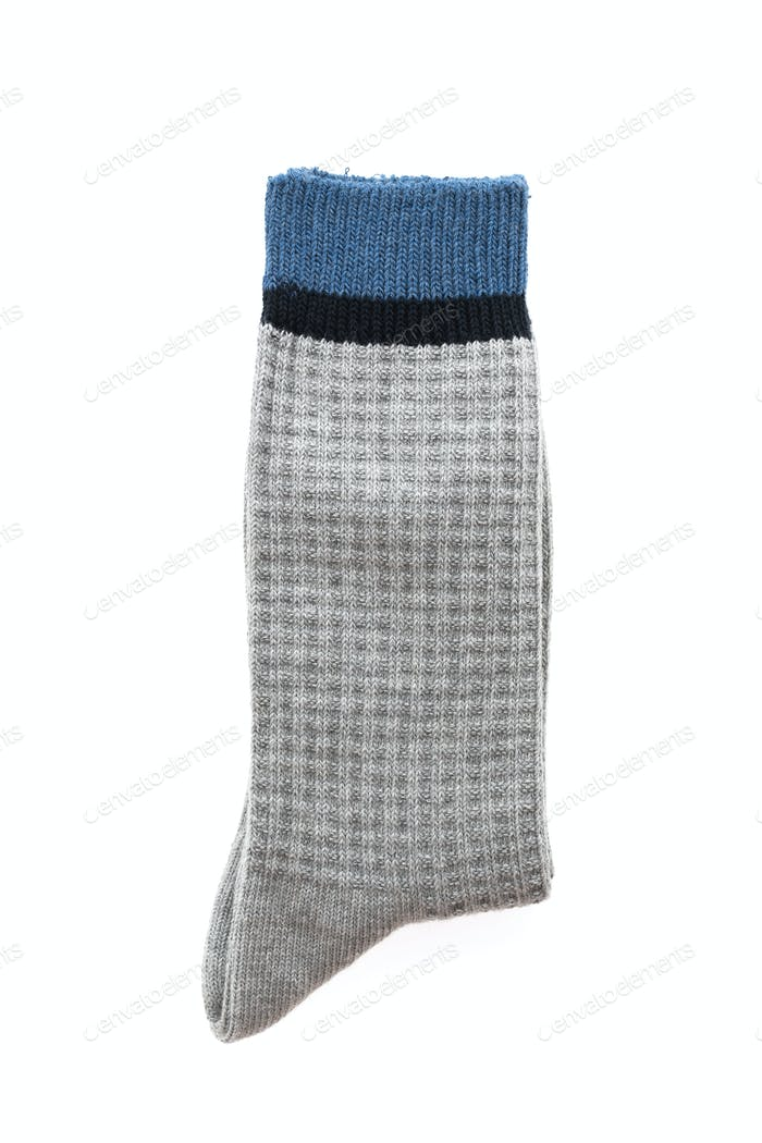 Sock isolated