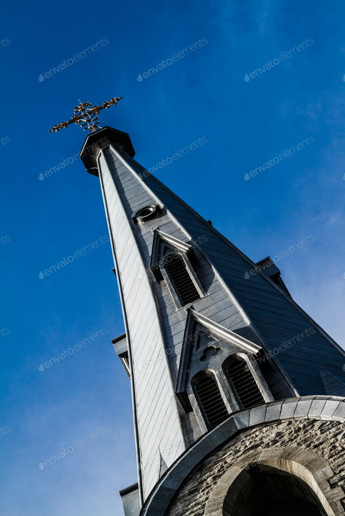 Church Steeple and Sky