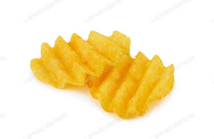 Thumbnail for Potato chips isolated