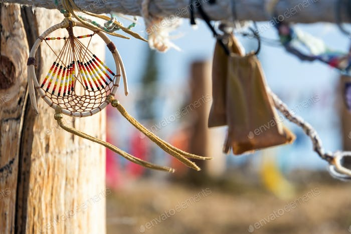 Dreamcatcher in the Wind