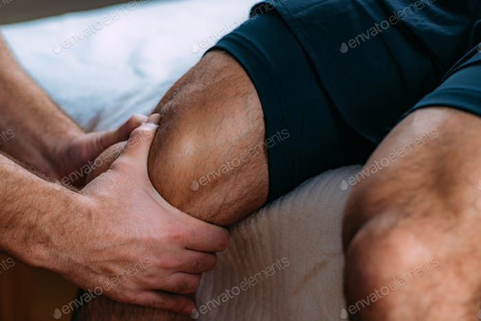 Knee Sports Massage Physical Therapy