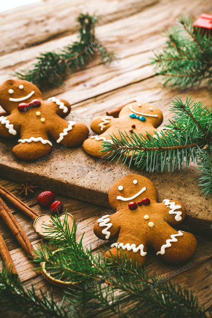 Gingerbread background