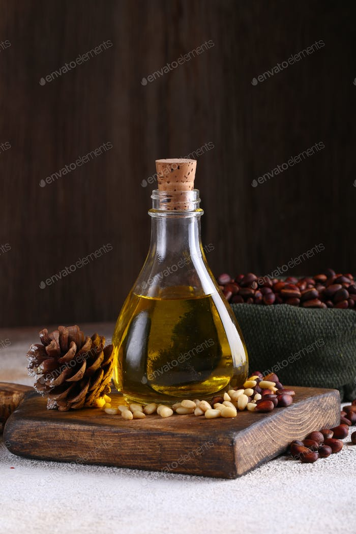 Natural Cedar Nut Oil