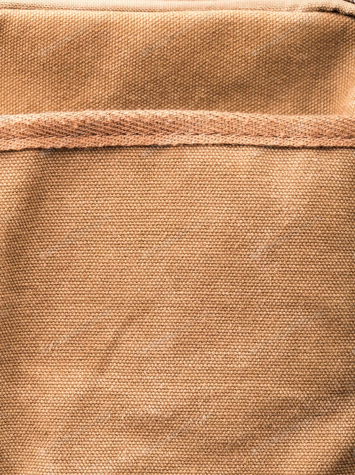 Bag brown pocket