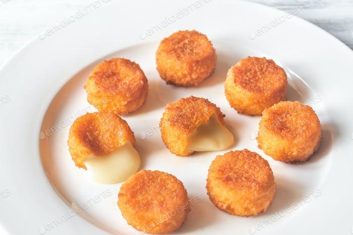 Camembert nuggets