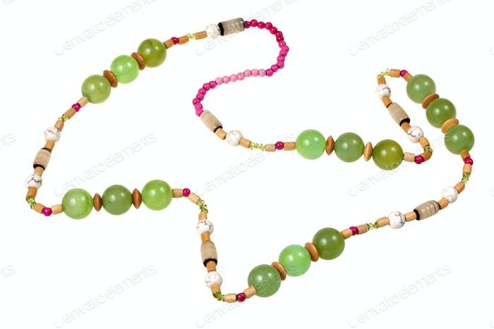 grüne Onyx Perlen