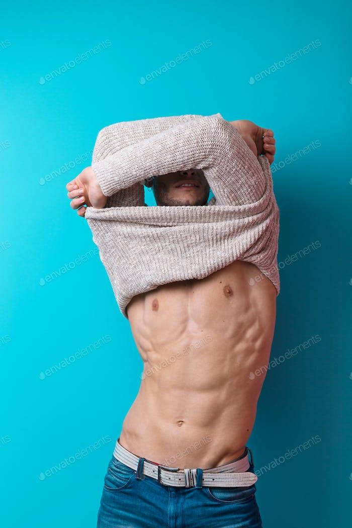 Schöner männlicher Körper