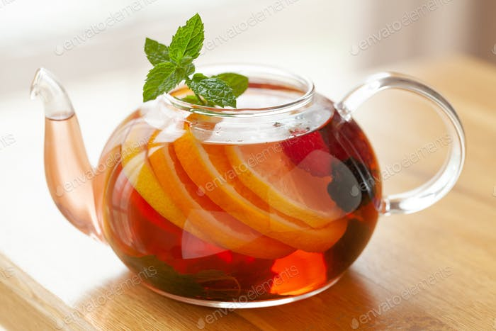 Traditional fruit tea