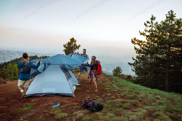 Home is where you pitch your tent