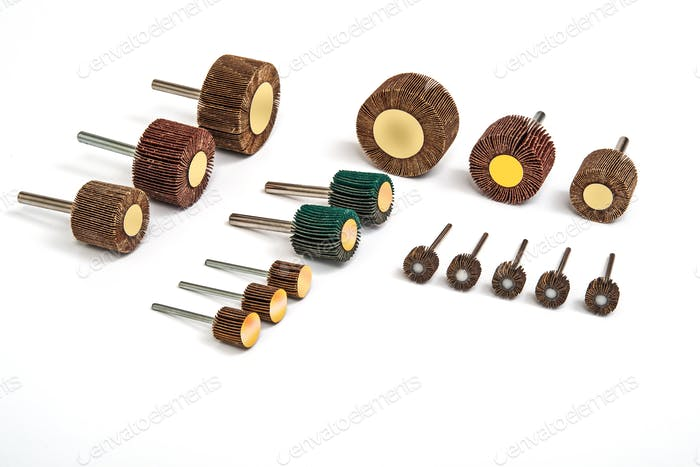 Grinding and polishing sanding  bits sets