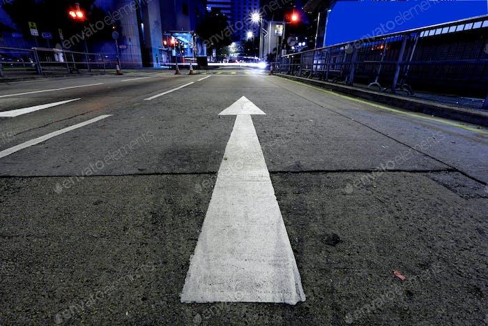 direction, go forward