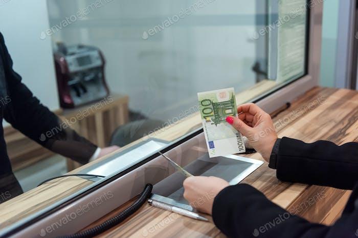 Geldkonzept