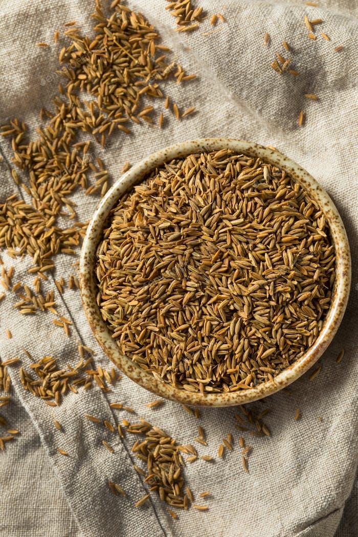 Raw Brown Organic Cumin Seed