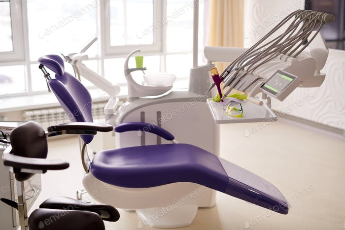 Dental Room with Modern Equipment
