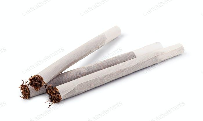 Handgerollte Zigaretten