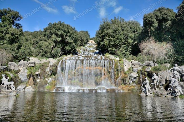 waterfalls of caserta,Italy