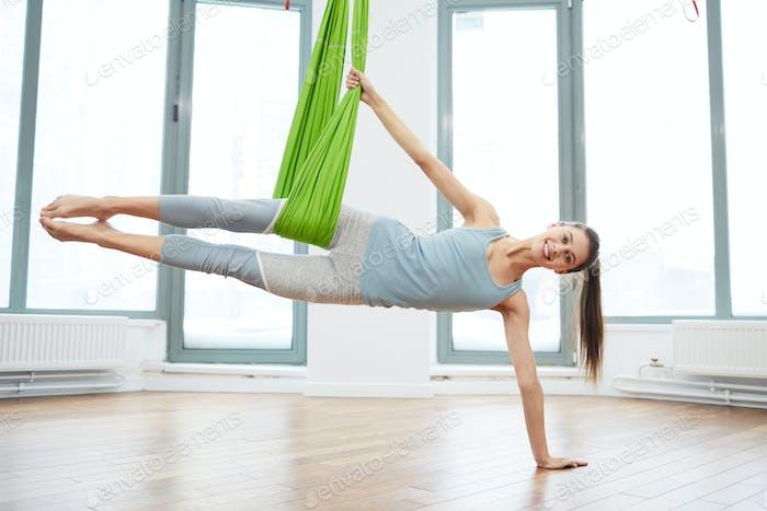 Aero Yoga Practice