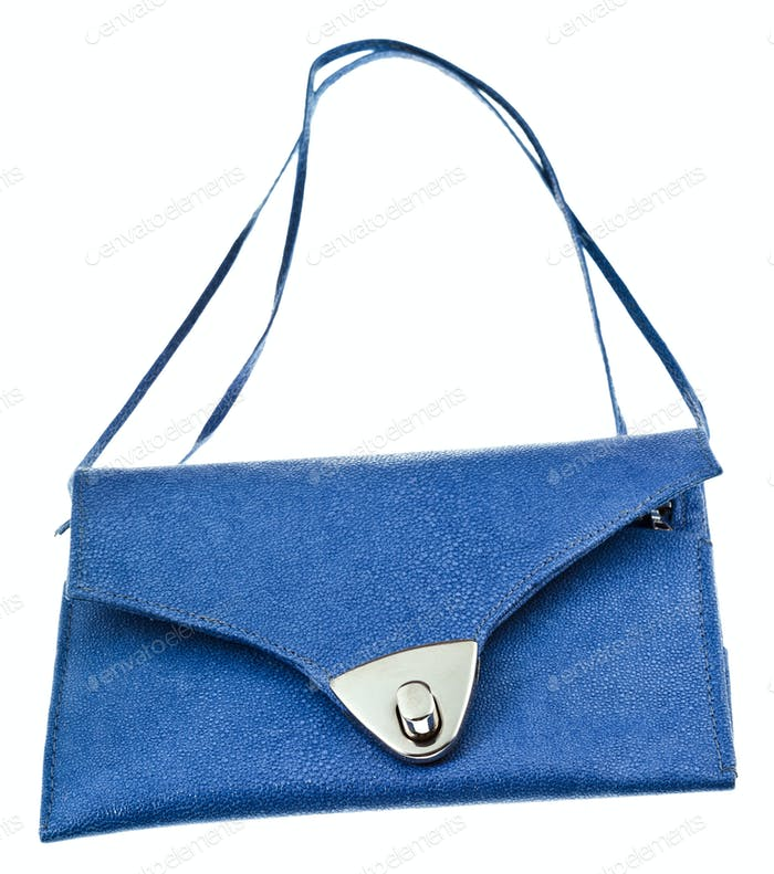 small flat lady handbag