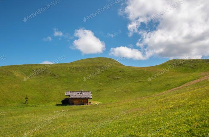Ferienhaus auf den Dolomiten
