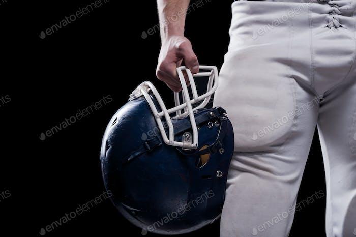 Crash helmet.