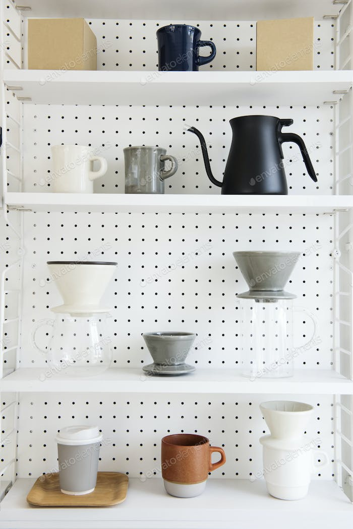 Coffee maker collection set