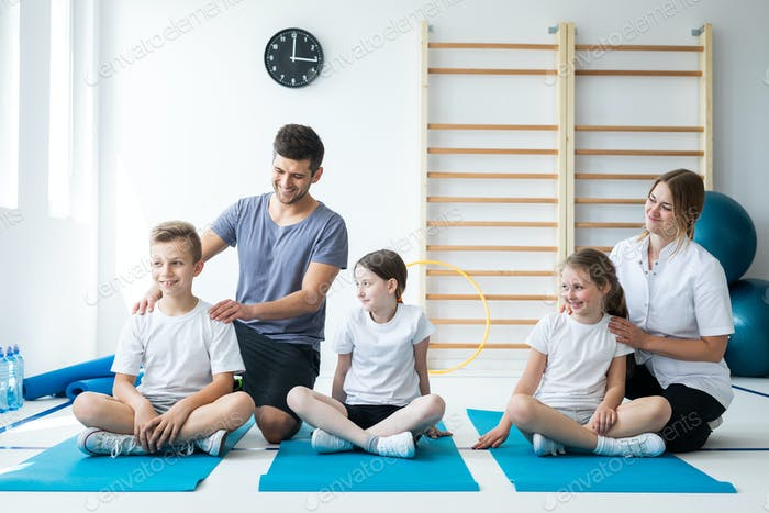 Exercising classes for kids