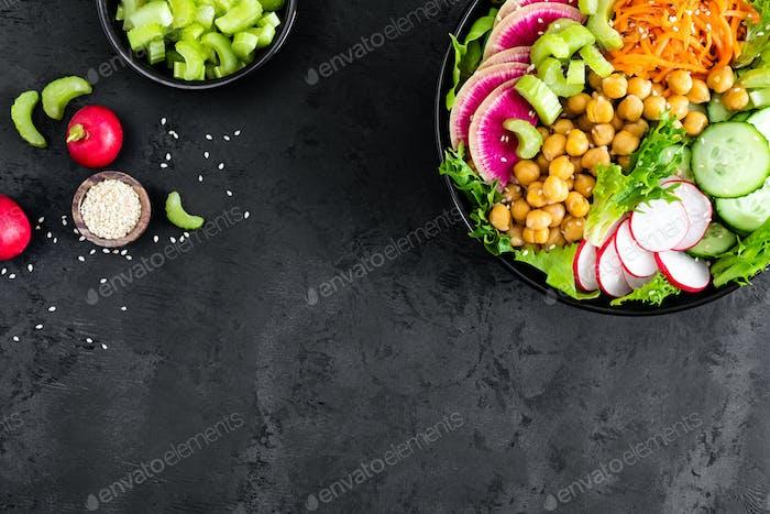 Salad Buddha bowl