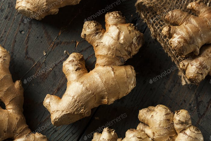 Raw Organic Ginger Root