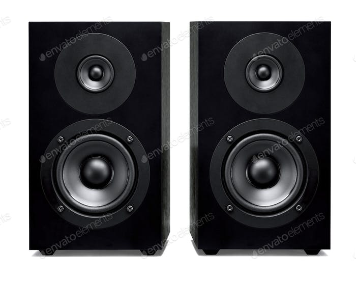 Nahaufnahme des Soundbar-Lautsprechers