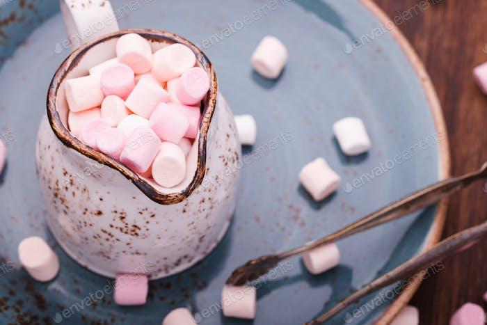 Marshmallow in a jar