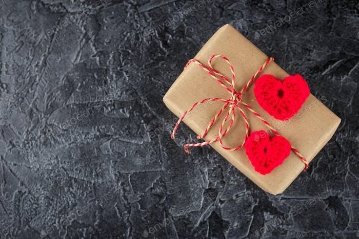 Geschenkboxen aus Kraftpapier