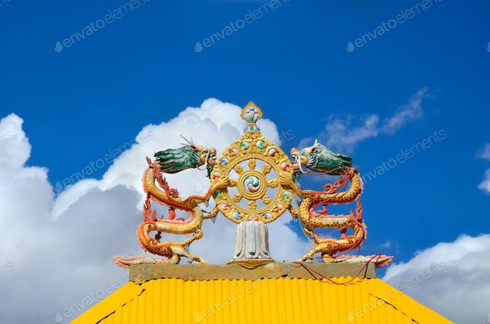 Monastery Gates