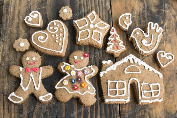 Gingerbread  Cookies , Family